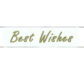 Best Wishes Ribbon