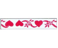 Hearts & Flowers Ribbons