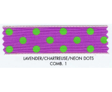Neon Dots Ribbon